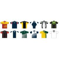 Buy cheap Man Polo Shirt Coolmax Fabric Italy Ink Sublimation Sportswear Polyester-based from wholesalers