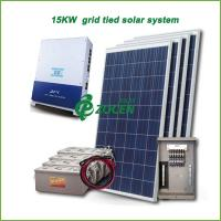 Wholesale 15kw PV Grid Tied Solar Power System , Efficiency Solar Mounting System from china suppliers