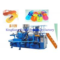 Wholesale 12 PCS Mold Station Footwear Making Machine For PVC Lady Jelly Flats / Slippers from china suppliers