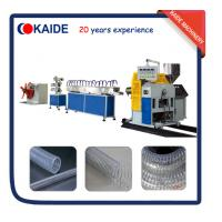 Wholesale PVC Steel Wire Reinforced Hose Production line/ PVC Steel Wire Hose Making Machine from china suppliers
