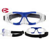 Wholesale Removable Silicone Durable Safety Basketball Protective Goggles OEM Strap from china suppliers