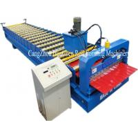 Wholesale Hi Rib Trapezoidal Wall Panel Roll Forming Machine , roof sheet forming machine from china suppliers