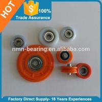 Plastic Wheel bearing door and window rollers
