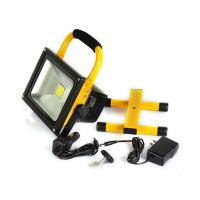 Quality 5 Watt Rechargeable LED Flood Light  Cool White 120° Beam Angle for sale