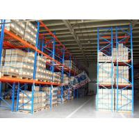 Wholesale 2500 Kg Max Load Pallet Rack Shelving Powder Coating For Third Party Distribution Centers from china suppliers