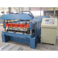 Quality Misubishi PLC Automatic Floor Decking Roll Making Machine with CE Certificate for sale