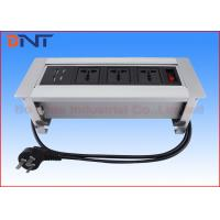 Wholesale Desktop Manual Rotating Power Socket Standard Grounding For Office Furniture from china suppliers