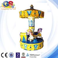 Wholesale Carousel Horse carousel for sale kiddie rides yellow from china suppliers