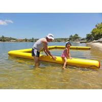 Quality Customized Swimming Pool Inflatable Air Mat Easy Carrying For Sea Water Fun for sale