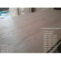 Wholesale Red Oak Fancy Plywood 1220 x 2440mm from china suppliers