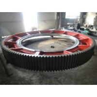 Wholesale Giant Spur Ring Gears Precision Forging , Cast Steel Machining Straight Tooth Gears from china suppliers