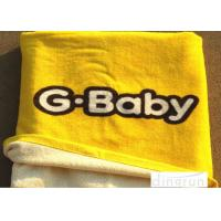 Quality Thickened Soft Oversized Beach Towels Duck Cartoon Yellow Color 70*140cm for sale