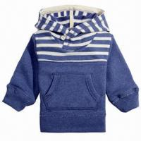 Wholesale Baby Wear/Children's Hoodie Jacket, Various Patterns and Designs are Available from china suppliers
