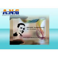 Wholesale Round Corner Business Cards Full Color Printing / Frosted PVC Gift Cards from china suppliers