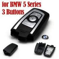 Wholesale BMW 5 Series Smart Key Shell 3 Buttons Transponder Keys from china suppliers
