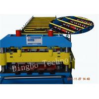 Wholesale 5.5Kw Metal Roofing Forming Machine , Electric Control Standing Seam Metal Roof Machine from china suppliers