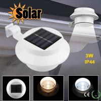 Wholesale Priced wall light ourdoor lamp portable waterproof solar guteer led light from china suppliers