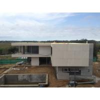 2 Story  , flat roof , Uruguay prefabricated light steel house , Light Steel Frame Houses