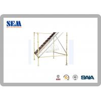 Wholesale Construction layher Scaffolding Systems , 50000 Psi Powder Coated from china suppliers