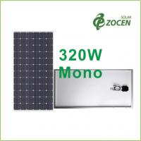 Wholesale High Performance , 320W Monocrystalline Solar Panels with Efficiency up to 16.49% from china suppliers