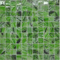 Wholesale Emerald green mosaic wall perfect for garden decoration from china suppliers