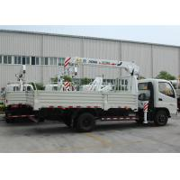 Wholesale Durable 3.2 Ton Lifting Telescoping Boom Truck Mounted Crane , 6.72 T.M from china suppliers