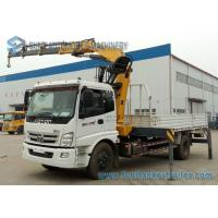 China 8000KG Foton Knuckle Boom Crane Mounted Truck 4 X 2 YC4E140-33 Engine on sale