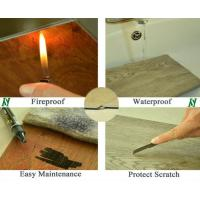 New technology fire retardant aqua lock wpc flooring