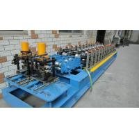 Wholesale Customized Profiles Drawings Shutter Door Roll Forming Machine 12 Forming Groups from china suppliers