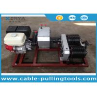 Wholesale 5T Cable Drum Gasoline Engine Powered Winch For Pulling / Lifting During Tower Erection from china suppliers