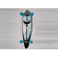 Quality Four Wheel Fish Canadian Maple Skateboard Decks / Long Cruiser Skateboards for sale
