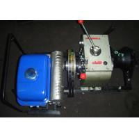 China 200kg High Speed Cable Pulley Machine Gasoline / Petrol Powered Winch 5 Ton on sale
