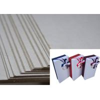 Wholesale Two Side Grey Solid and Hard Stiffness Grayboard Package Box Used Board from china suppliers