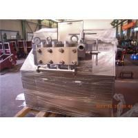 Wholesale Processing Line Type 4 plunger dairy homogenizer 12000 L/H 25 Mpa 90 KW from china suppliers