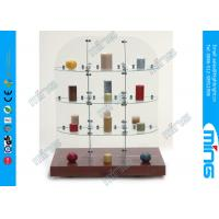 Wholesale Elegant Tempered Glass Display Showcases , Display Free Showcase from china suppliers