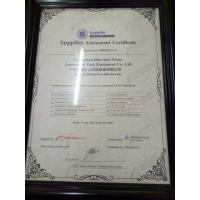 Guangzhou Blue Surf Water amusement park equipment Co.,Ltd. Certifications