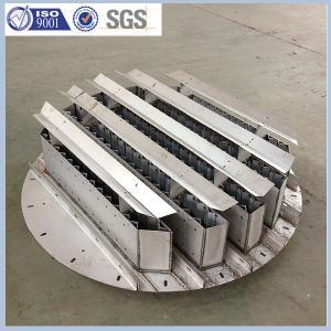 metal liquid distributor column internals