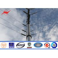 Wholesale Galvanised Utility Steel Tubular Pole For Electrical Power Transmission Line Project from china suppliers