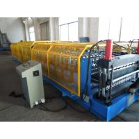 Wholesale Wave Profile C Purlin Roll Forming Machine 7.5 KW , 18 - 26 Roller Forming Machine from china suppliers