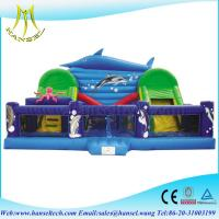 Wholesale Hansel high quality commercial inflatable amusement play house for kids from china suppliers