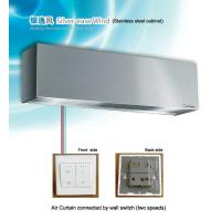Quality Single cool Stainless Steel Vertical Air Curtain 90 cm / 100 cm / 120 cm for sale