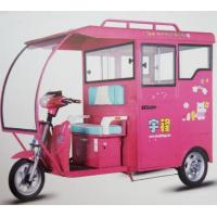 Wholesale Four Passenger Electric Battery Powered Tricycle Semi - Closed For Taxi from china suppliers