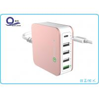 Wholesale 40W 5 Ports Type C USB Desktop Charging Station Quick Charger 3.0 with ETLCertified from china suppliers