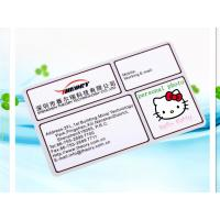 Wholesale PVC Name Card from china suppliers