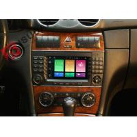 Wholesale Multi Touch Screen Mercedes C Class Dvd Player , Mercedes Benz Head Unit 4G Function from china suppliers