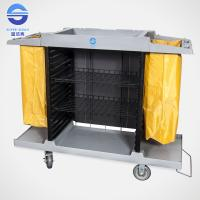 Wholesale Large Guest Wheeled Room Service Trolley Multifunction Serving Carts from china suppliers