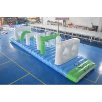Wholesale Swimming Pool Kids Floating Inflatable Obstacle Course With 0.9mm PVC Tarpaulin from china suppliers