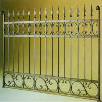 Wholesale wrought iron fencing from china suppliers
