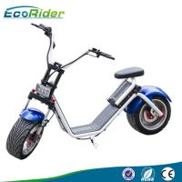 Wholesale Ecorider Off Road Electric Scooter With 18 inch Two Big Wheels , Double Seat Scooter from china suppliers