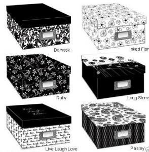 Photo Storage Box/Archival Storage Box